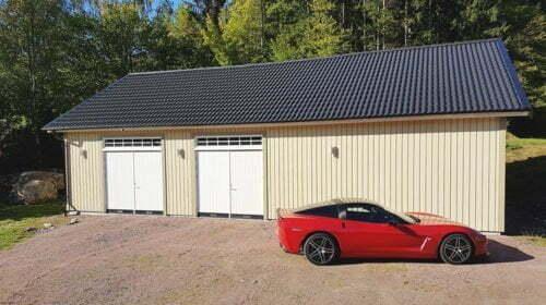 Garage 8,4 x 13,2 m