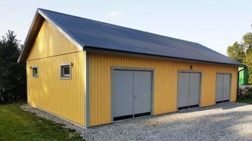 Garage 8,4 x 14,4 m